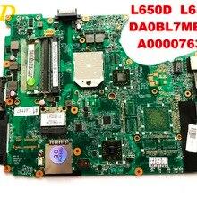 Оригинальная материнская плата для ноутбука Toshiba L650D L655D DA0BL7MB6D0 A000076380 протестирована,, разъемы
