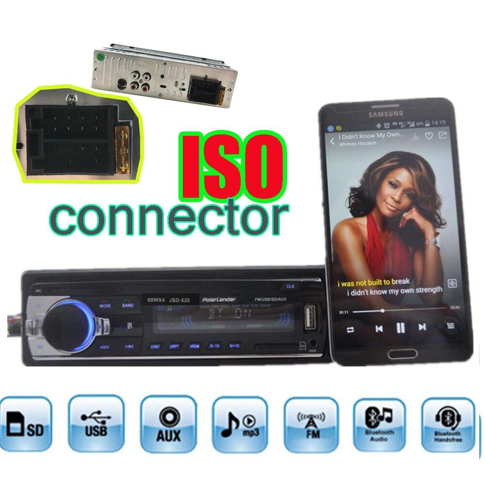 new 12V Car radios tuner Stereo bluetooth FM Radio electronic MP3 Audio Player USB SD MMC