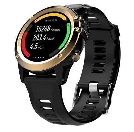 H1 3g смарт браслет телефон Android 4,4 1,39 дюймов MTK6572 4 ГБ Встроенная память Смарт часы IP68 Водонепроницаемый 5.0MP Камера шагомер браслет - 2