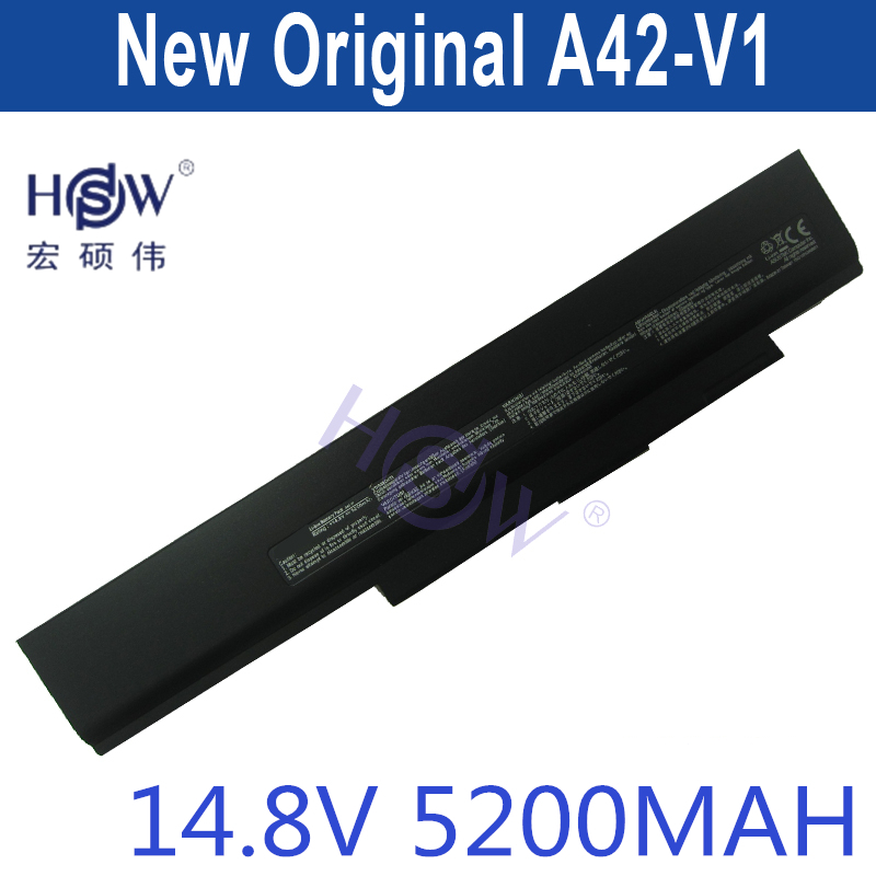 HSW Laptop Replacement Battery A42 V1 For Asus V1 V1J V1J V1S V1Sn VX2 VX2S VX2Sn bateria akku