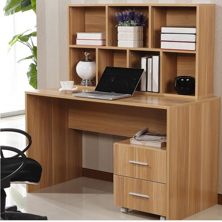 table Home desktop computer desk corner bookcase library