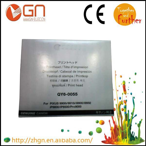 1 PK 95% NEW Remanufactured QY6-0055 print head for canon PIXUS i9900, i9950 , iP8600,iP8500,iP9910,Pro9000 printer