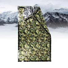 Camouflage Emergency Blanket First Aid Rescue Waterproof Travel Camp Tent Outdoor Survive Tool Hunt Thermal Emergency Gear new