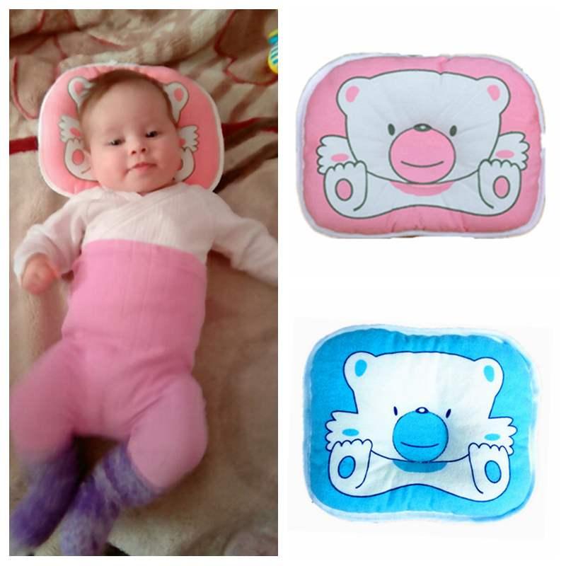 Newborn Baby Pillow Flat Head Sleeping Positioner Support