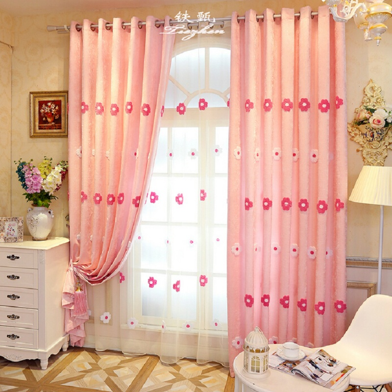 Curtain Cute Living Room Valances For Your Home: Popular Sheer Curtains Pink-Buy Cheap Sheer Curtains Pink