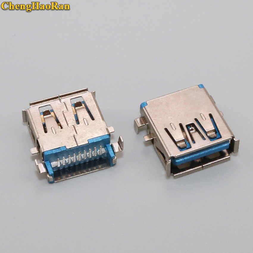 ChengHaoRan dla SONY Toshiba Samsung DELL płyta główna 9PIN 3.0 gniazdo USB gniazdo USB żeńskie złącze portu AF zlew DIP