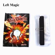 Сносить лампочку Большого Взрыва Взрывающийся светильник ум Волшебные трюки 1 шт. иллюзии ментализм сцена крупным планом магическое шоу G8019
