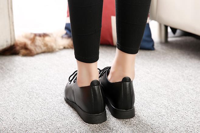 Bouche Seule Profonde forme Boucle Chaussure À Peu Épais blanc Étanche Avec Polyvalent Noir Plate Nouvelles Une Chaussures Talons Hauts FxqCHvf