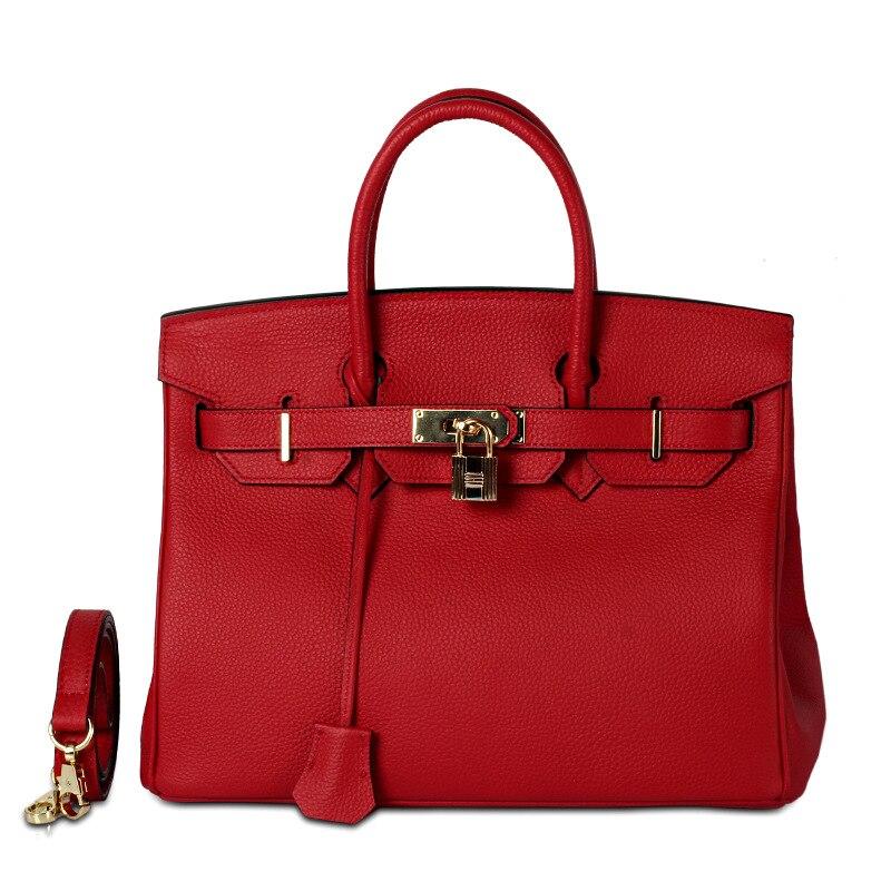 100% Véritable sacs en cuirs Pour Femmes sacs à main de luxe sac pour femme Designer fermoir tendance Grand Doux Totes Ladys sacs à bandoulière Bolsas