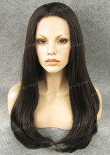 Natural Black Wig Sliky Straight Lace Front Wig Long Straight for Daily Wear for Beautiful Girl