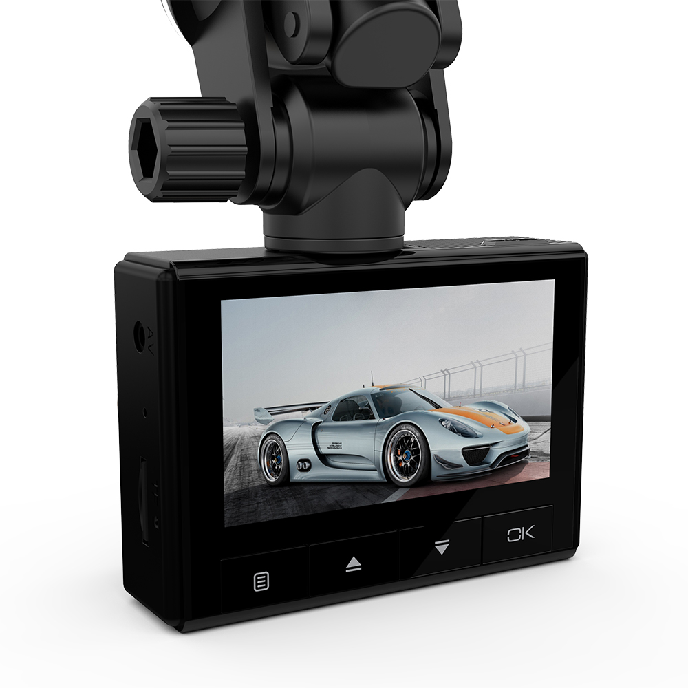 2.45 IPS Display Full HD 1080P 150 Wide Angle Car DVR Vehicle Dash Cam WIFI Real-time View and Share for bmw e46 e90 ford vw