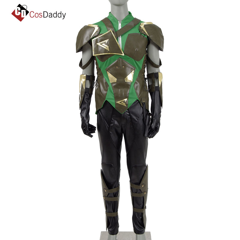 Green Arrow Cosplay Costume Oliver Queen Bruce Wayne DC Anime CosDaddy