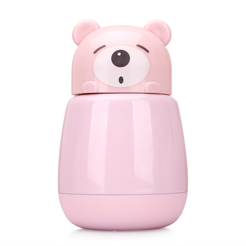 Kawaii Multi-color Bear Thermos  4