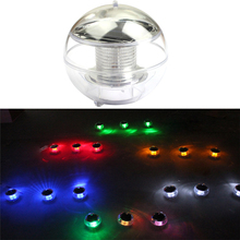 Solar water float light LED colorful ball color change light Outdoor courtyard decoration pool light led rgbw colorful color change christmas trees decoration wedding furniture decoration lamp