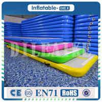 Bonne qualité 5x1x0.1 m piste d'air gonflable Tumbling Mats tapis de gymnastique Tumbling gonflable Airtrack avec une pompe