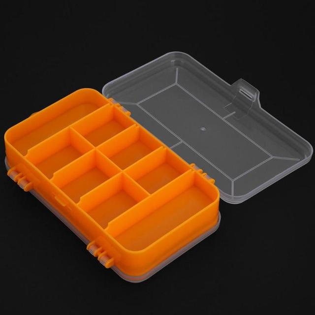 Portable Toolbox Durable Plastic Double-Sided Component Box Screws Hardware Storage Case Transparent Container Storage & Portable Toolbox Durable Plastic Double Sided Component Box Screws ...