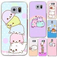 Симпатичные Каваи Коробка Картофель и кроликов Жесткий Прозрачный для Galaxy S3 S4 S5 & Мини S6 S7 S8 S6 edge Edge плюс