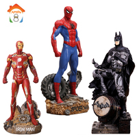 30CM Batman Action Figures Toys Brinquedos Super Hero Spider Man Iron Man Anime Lover Collectible Model Toy Boys Christmas Gift