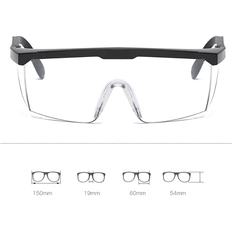 Safety Glasses Welding Goggles Sunglasses Eye Protection Working Welder Adjustable Safety Goggles