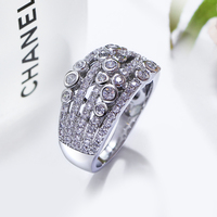 Limited Edition Unique Design Rings For Women High Quality Ladies Rings Top Sell High Quality Trendy
