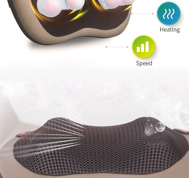 JinKaiRui Vibrating Kneading Neck Body Massager Hammer Pillow Infrared Shiatsu Electric Shoulder Back Massage Massages Car/Home 22