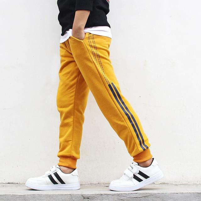 Boys Sport Cotton Pants