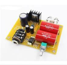 HV-10-RA1 Headphone AMP Amplifier Kits Can Use Battery JRC4566AD and Power Adapter(18-24V)(China)