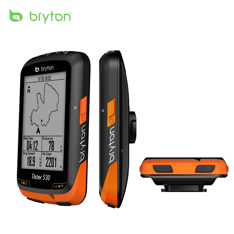 Bryton R530E/R530T/ GPS Bicycle Bike Cycling Computer & Extension Mount with ANT+ Speed Cadence Dual Sensor Heart Rate Monitor имп имп 530 40x8 r