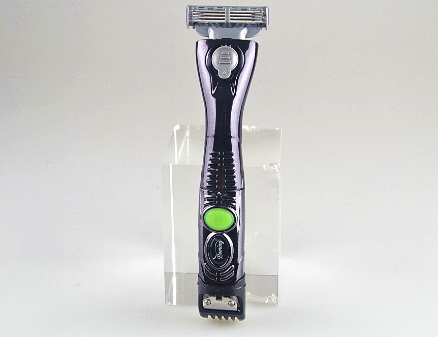 newest washable electric men beard razor trimmer styling clipper hand razor blade shaver mustache timmer man facial hair remover