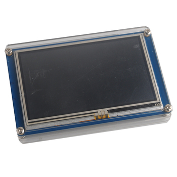Nextion 4.3 inch HMI LCD Touch Display Screen Module NX4827T043+Transparent Clear Case for Arduino Raspberry Pi Basic Version