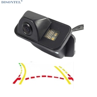 Dynamic Trajectory Reverse Backup Rear View Camera For Toyota Corolla Auris Avensis T25 T27 Vehicle Tracks Parking Camera