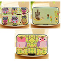 1pc Cartoon Owl  Business Card Holder  Ladies Kawaii Plastic Box Special Design Credit and ID Card  Holder -- BIY016 PM30