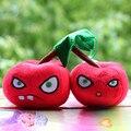 Plants Vs Zombies Felpa Suave Peluche Juguetes de la Muñeca Cherry Bomb