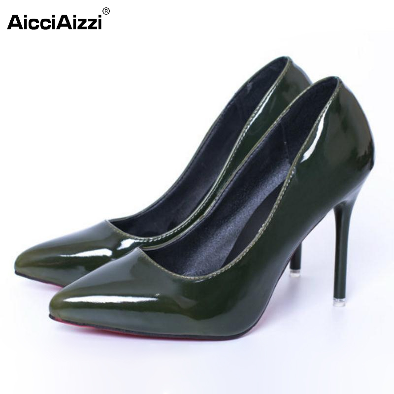Women High Heel Shoes Pointed Toe Sexy Pumps Classics Stylish Thin Heels Shoes Women Pure Color Office Lady Footwear Size 34-39 women s geniune leather high heels shoes women pointed toe pure color high heeled pumps office lady sexy footwear size 33 40