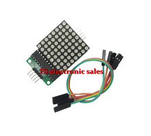 10 pcs MAX7219 Dot LED Matrix Display Module SCM Control Module DIY Electronic Kit For Arduino