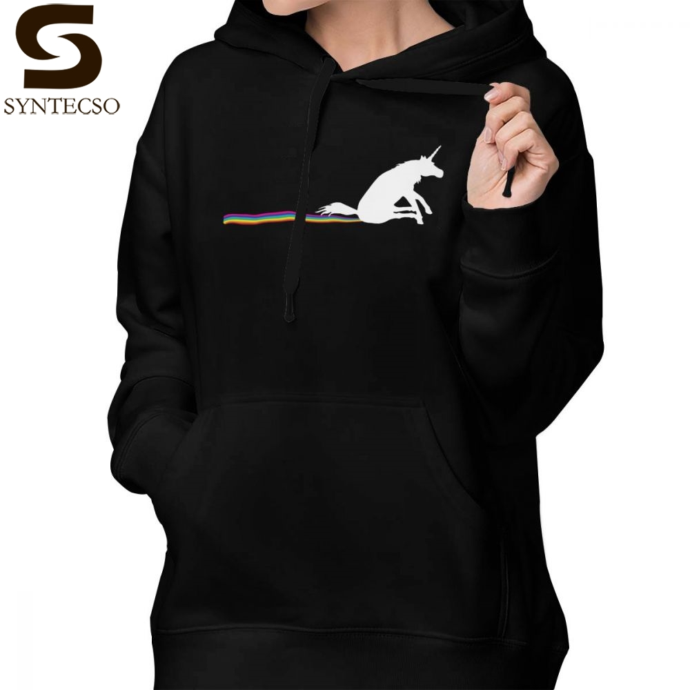 Sporting Poop Unicorn Hoodie Go Shit Some Rainbows Hoodies Sweet Cotton Hoodies Women Graphic Blue Street Wear Over Sized Pullover Hoodie A Wide Selection Of Colours And Designs Hoodies & Sweatshirts