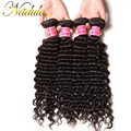 4 Bundle Deals 7A Brazilian Deep Wave Virgin Hair Extensions 100% Brazillian Deep Wave Human Hair Cheap Brazilian Deep Curly