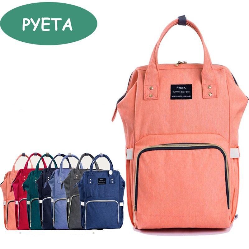 PYETA Diaper Bag Fashion Mummy Maternity Nappy Bag Brand ...