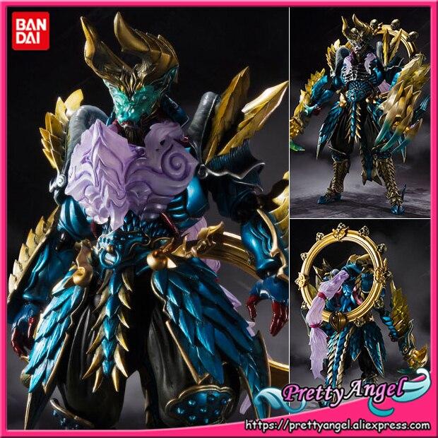 Genuine Bandai Tamashii Nations S.H.Figuarts Tamashii MIX Exclusive Monster Hunter Jashin Kakusei Zinogre Action Figure