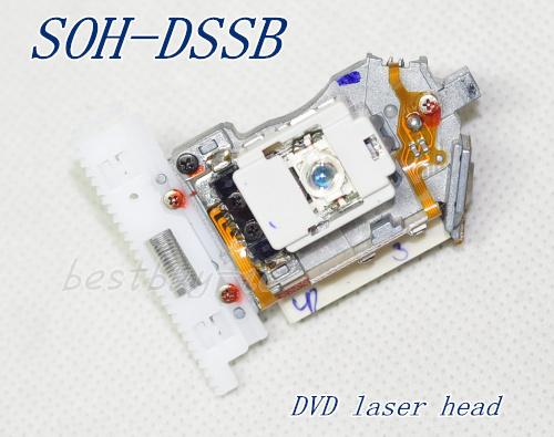 Cabeza del láser DVD SOH-DSSB DSSB LENTE Óptico de envío DVD. 10 unids/lote envío gratis