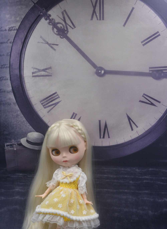 Blyth кукла BJD, Neo Обнаженная кукла Blyth уникальные, непрозрачные куклы лица могут изменить макияж и платье DIY, 1/6 мяч соединены куклы SO32