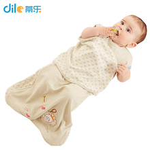 New Infant spring autumn Soft baby cotton sleepingsack wrap type safety baby sleeping bag kids Strollers Bed Swaddle Blanket