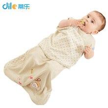 Nouveau Infantile printemps automne Doux bébé coton sleepingsack wrap de sécurité de type bébé sac de couchage enfants Poussettes Lit Swaddle Couverture