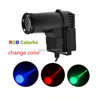 Hot Sell 10W RGB Change Color DJ Stage Spot Effect Led Pinspot DMX Mini Spotlight For