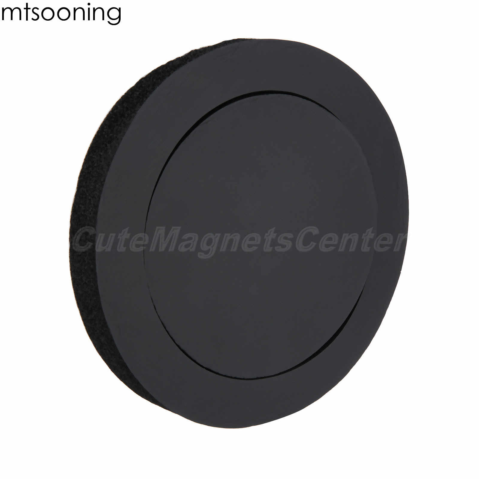 mtsooning 6.5 inch Black Car Speaker Insulation Ring Door Trim Sound Insulation Cotton Audio Speakers Adhesive Insulation Ring