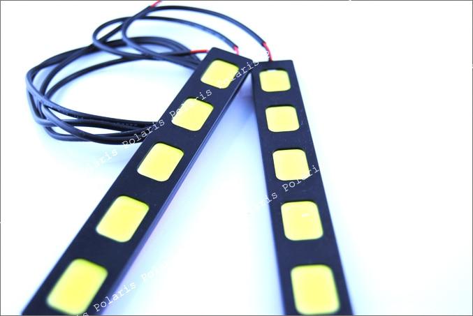 2019 BARU 30w tongkol drl mobil dipimpin Daytime Running Light day - Lampu mobil - Foto 5