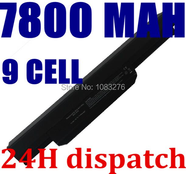 9 células a31-k53 a32-k53 a41-k53 a42-k53 batería del ordenador portátil para asus x53s a43 X43 K43 K53 A53s k53s k53U A43B A53B K53B X43B Series
