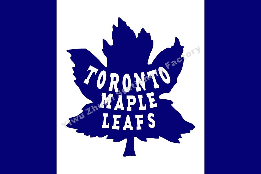 ̿̿̿(•̪ )Toronto Maple Leafs bandera NHL Hockey Liga poliéster ...