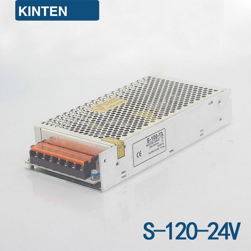 S-120-24 Series Switching Power Supply Monitoring Power LED Power Transformer Power 120W 24V5A минипечь gefest пгэ 120 пгэ 120