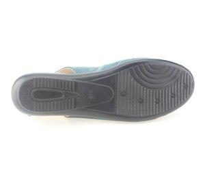 Image 3 - Mais tamanho (35 43) novo 2020 verão sapatos femininos de couro genuíno cunhas casuais sapatos sandálias femininas bombas para mulher